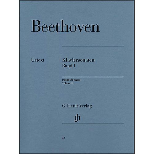 G. Henle Verlag Piano Sonatas Volume I By Beethoven / Wallner