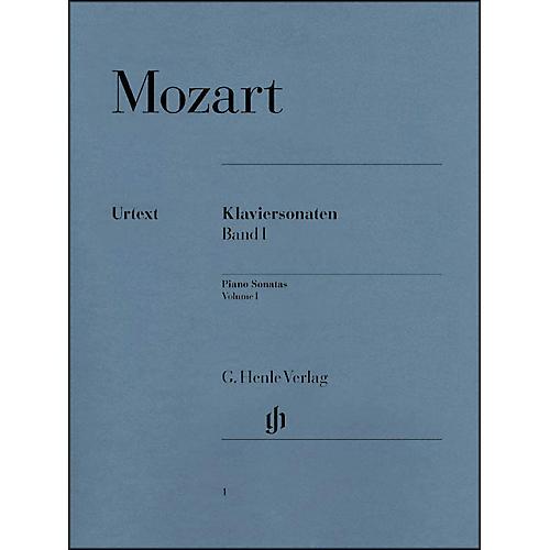 G. Henle Verlag Piano Sonatas Volume I By Mozart / Herttrich