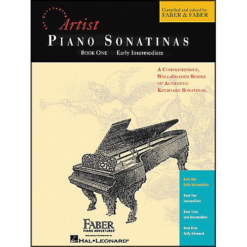 Faber Piano Adventures Piano Sonatinas Book 1 Early Intermediate - Faber Piano