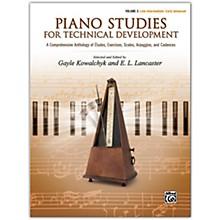 Alfred Piano Studies for Technical Development, Volume 2 Late Intermediate / Early Advanced