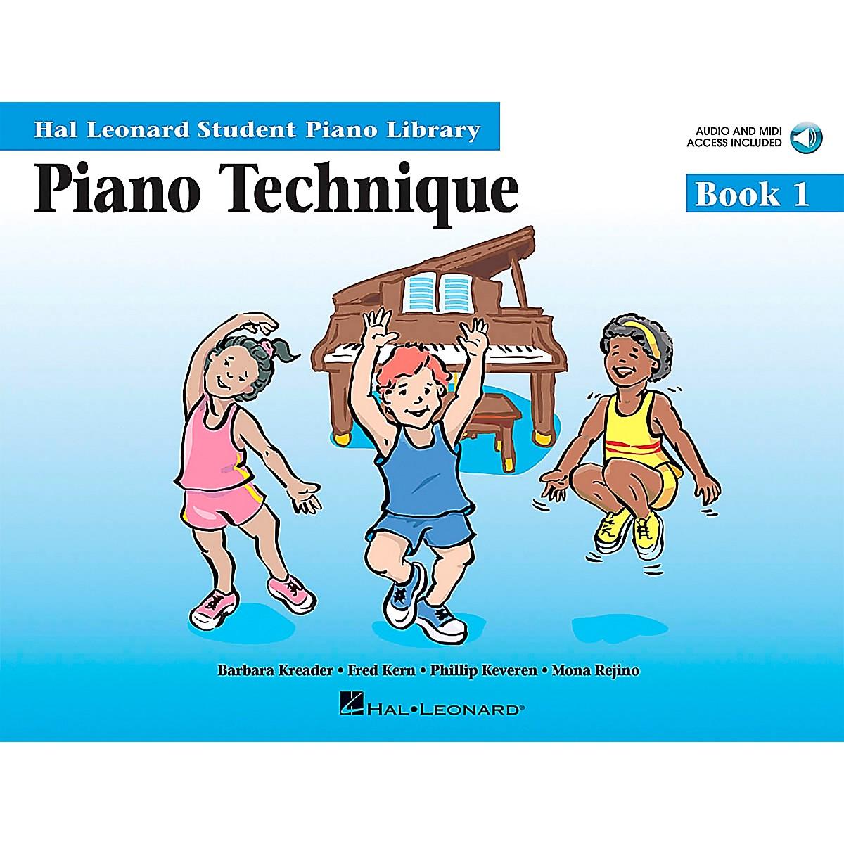 Hal Leonard Piano Technique Book 1 Book/CD Hal Leonard Student Piano Library