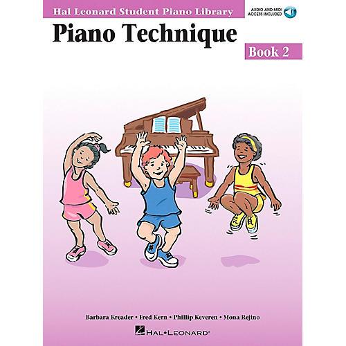 Hal Leonard Piano Technique Book 2 Book/CD Hal Leonard Student Piano Library