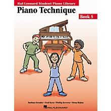 Hal Leonard Piano Technique Book 5 Hal Leonard Student Piano Library