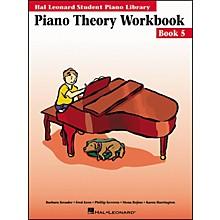 Hal Leonard Piano Theory Workbook 5 Hal Leonard Student Piano Library