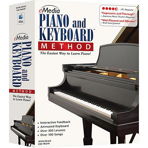 Emedia Piano and Keyboard Method CD-ROM