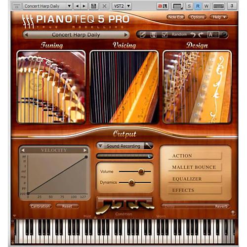 Pianotek Pianoteq Concert Harp Instrument