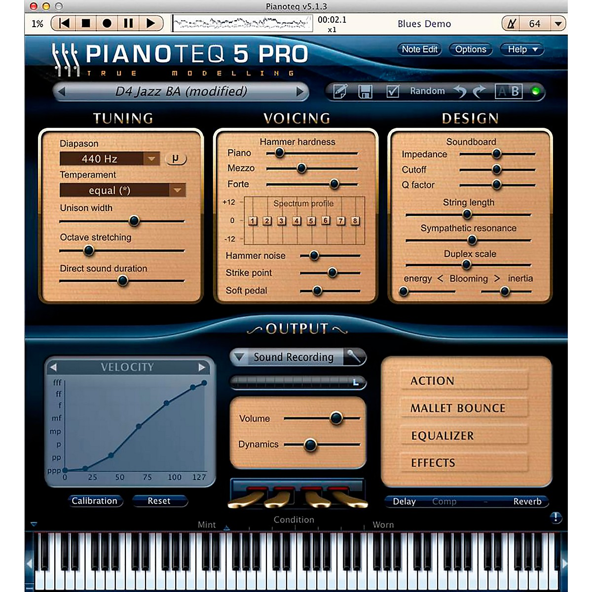 Modartt Pianoteq D4 Grand Piano