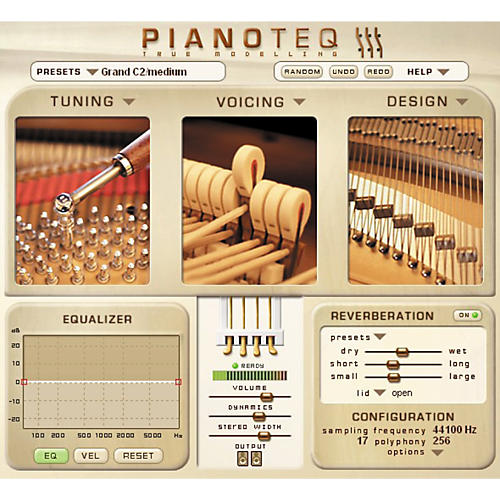 Modartt Pianoteq Modelled Piano Virtual Instrument