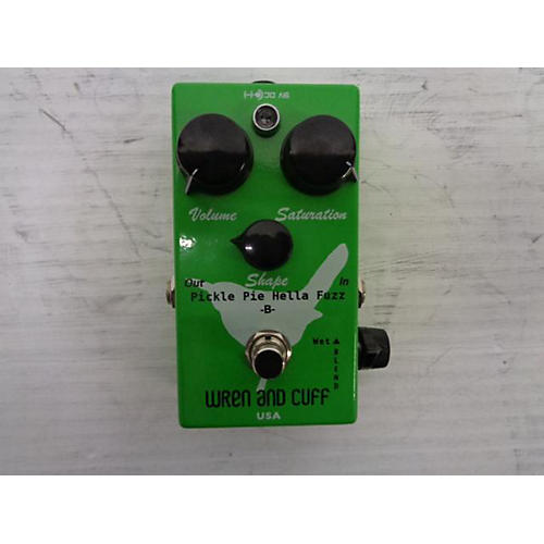 Wren And Cuff Pickle Pie Hella Fuzz -B- Effect Pedal