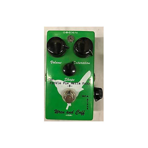 Wren And Cuff Pickle Pie Hella Fuzz Effect Pedal