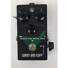Wren And Cuff Pickle Pie Hella Fuzz Limited Edition Effect Pedal