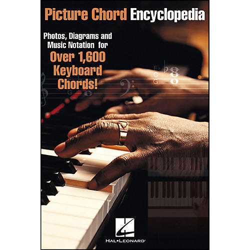 Hal Leonard Picture Chord Encyclopedia Over 1600 Keyboard Chords 6X9 ...