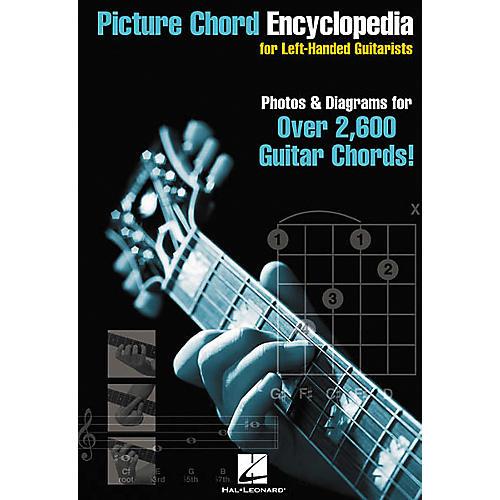 Hal Leonard Picture Chord Encyclopedia for Left-Handed Guitarists Book
