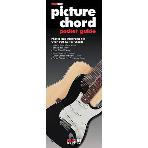 Proline Picture Guitar Chord Pocket Guide Book Guitar Center