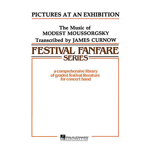 Hal Leonard Pictures at an Exhibition - Young Concert Band Level 3 arranged by James Curnow