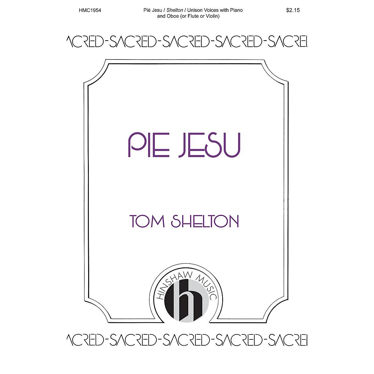 Hinshaw Music Pie Jesu UNIS arranged by Tom Shelton