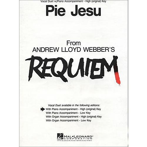 Hal Leonard Pie Jesu (from Requiem)