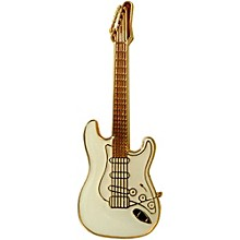 AIM Pin Electric Guitar Level 1 White