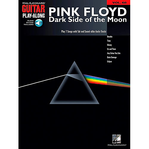 Hal Leonard Pink Floyd - Dark Side of the Moon Guitar Play-Along Volume 68 Book and Online Audio