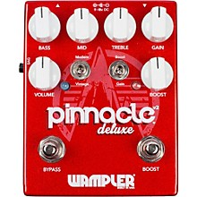 Wampler Pinnacle Deluxe v2 Distortion Pedal Level 1