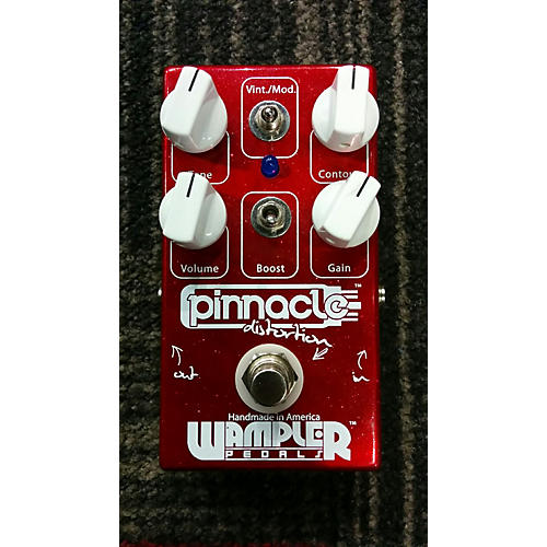 Wampler Pinnacle Standard Distortion Effect Pedal
