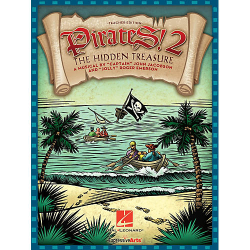 Hal Leonard Pirates 2: The Hidden Treasure (A Musical for Young Voices) Performance/Accompaniment CD by John Jacobson
