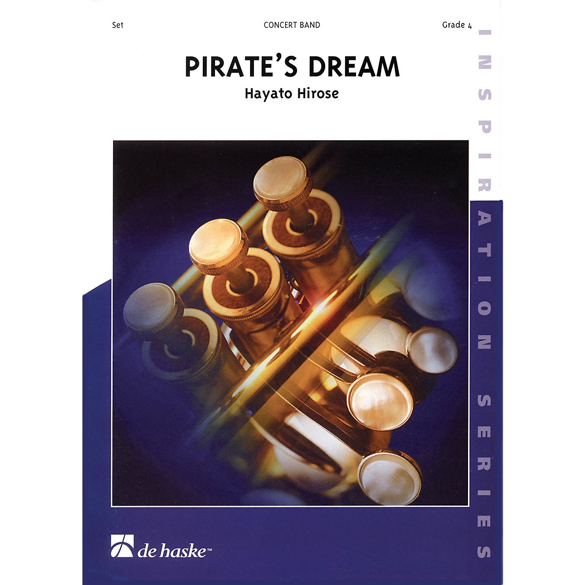 De Haske Music Pirate's Dream Concert Band Level 4 Composed by Hayato Hirose
