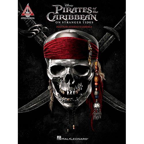 Hal Leonard Pirates Of The Caribbean - On Stranger Tides (Featuring Rodrigo Y Gabriela) Guitar Tab Songbook