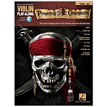 Hal Leonard Pirates Of The Caribbean - Violin Play-Along Volume 23 Book/Online Audio