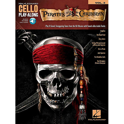 Hal Leonard Pirates of the Caribbean Cello Play-Along Volume 3 Book/Audio Online