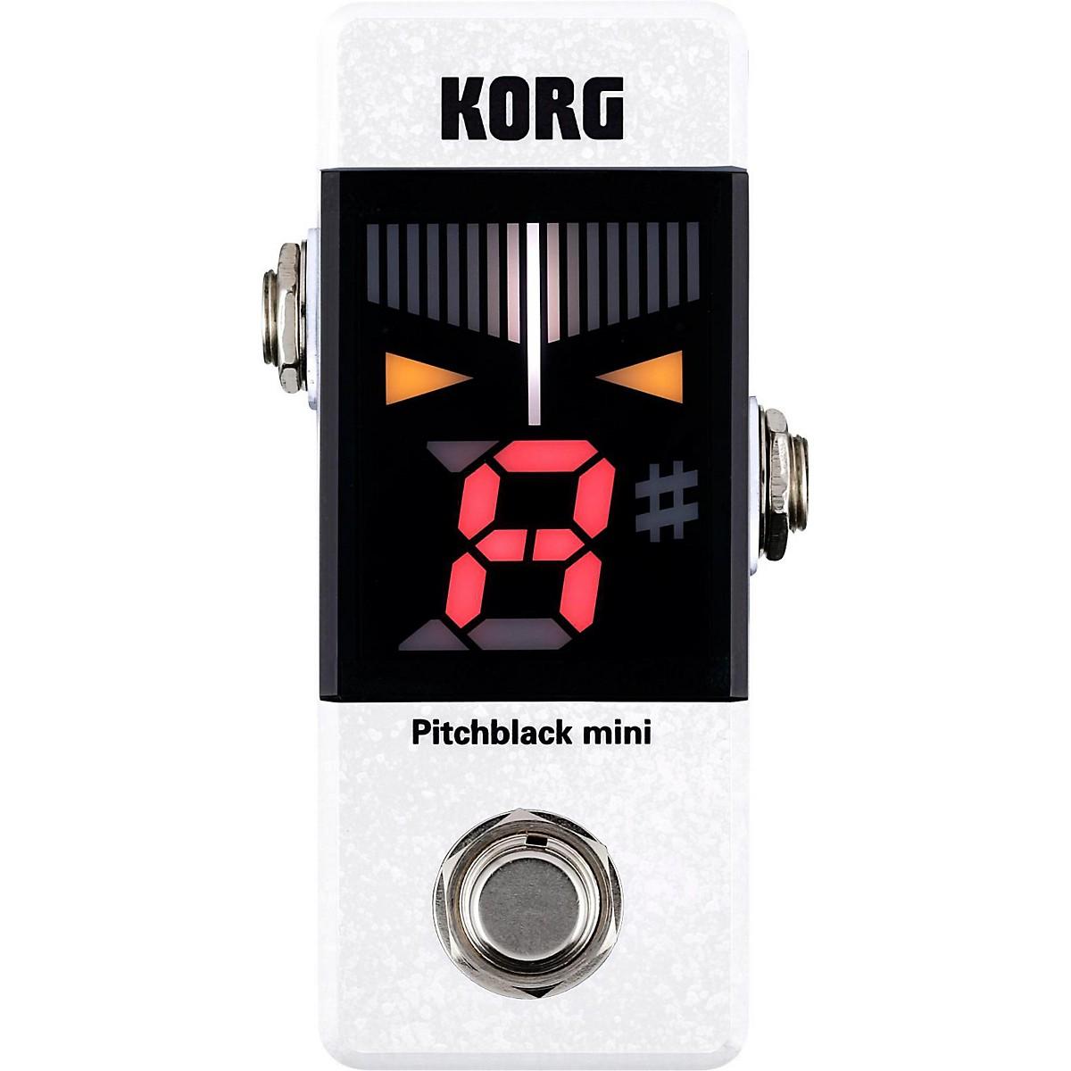 Korg Pitchblack Mini Limited Edition Pedal Tuner