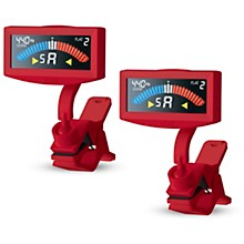 Korg Pitchcrow Red Tuner Bundle 2-Pack