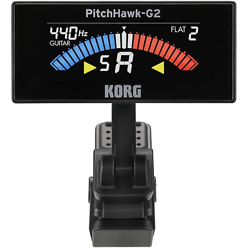 Korg Pitchhawk 2 Clip-On Tuner with Color LCD Screen