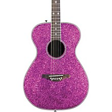 Pixie Acoustic-Electric Guitar Pink Sparkle