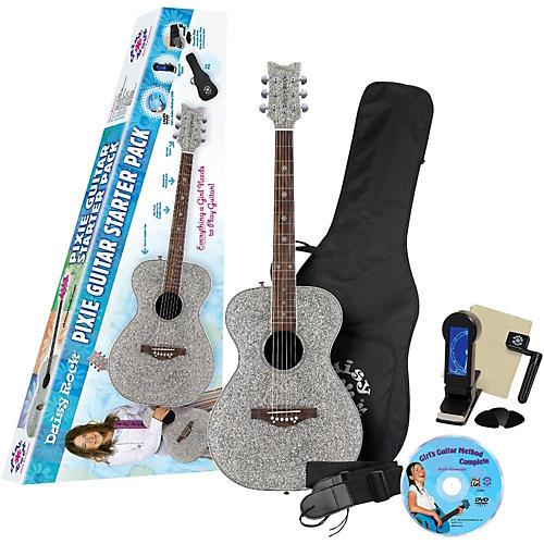 Daisy Rock Pixie Acoustic Guitar Starter Pack