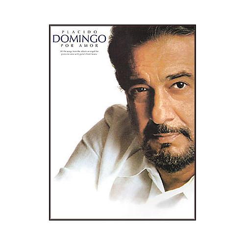 Hal Leonard Placido Domingo - Por Amor Piano, Vocal, Guitar Songbook