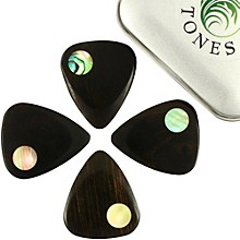 Timber Tones Planet Tones Mixed Tin of 4 Guitar Picks