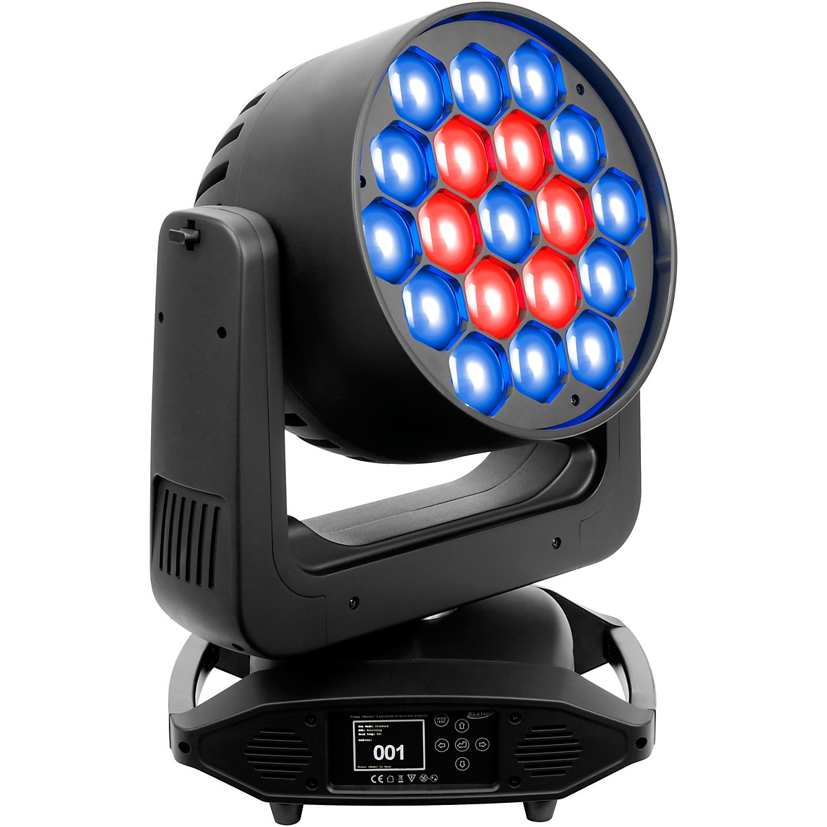 Elation Platinum Seven Moving-Head LED PAR Wash Light