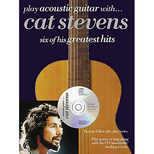 Music Sales Play Acoustic Guitar with...Cat Stevens Music Sales America Series Softcover with CD by Cat Stevens