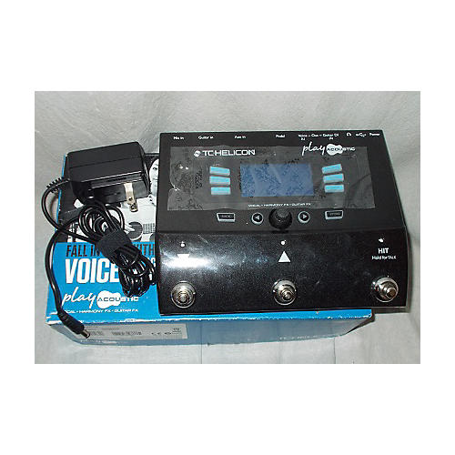 TC Helicon Play Acoustic Voice Processor Vocal Processor
