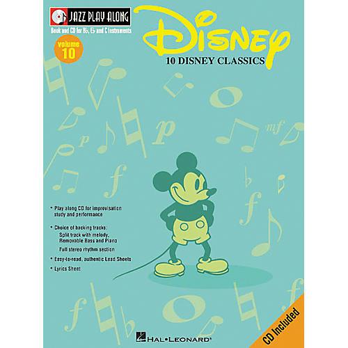 Hal Leonard Play Along Disney Classics (Book/CD)