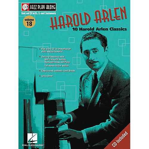 Hal Leonard Play Along Harold Arlen (Book/CD)