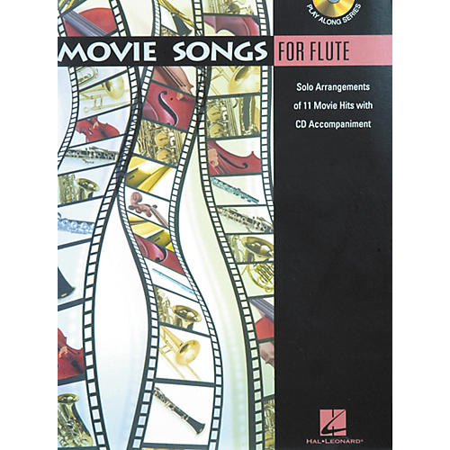 Hal Leonard Play-Along Movie Songs Book with CD Viola