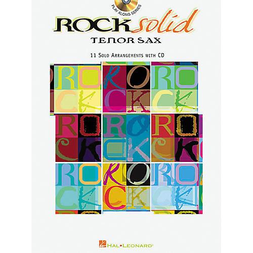 Hal Leonard Play-Along Rock Solid Book with CD Viola