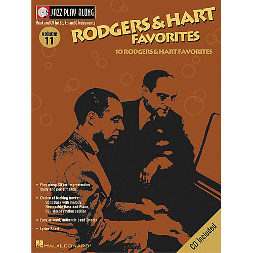 Hal Leonard Play Along Rodgers And Hart Favorites (Book/CD)