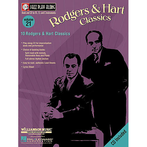 Hal Leonard Play Along Rodgers and Hart (Book/CD)