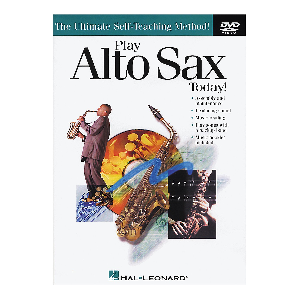 Hal Leonard Play Alto Sax Today! DVD