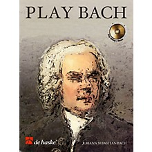 De Haske Music Play Bach (8 Famous Works) De Haske Play-Along Book Series BK/CD