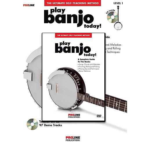 Proline Play Banjo Today! Method (Book/CD/DVD)