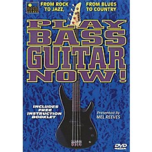 Music Sales Play Bass Guitar Now! Music Sales America Series DVD Written by Mel Reeves